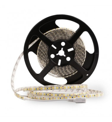 6W LED Strip, 3000K (warm white light), IP65, 12V, 5m