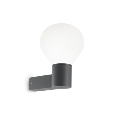 "12W LED Spotlight, surface mounted ""Cut"", warm white light"